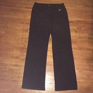Black M Nike wide leg yoga pants
